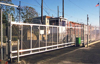 Chain Link Fence Aluminum Cantilever Slide Gate