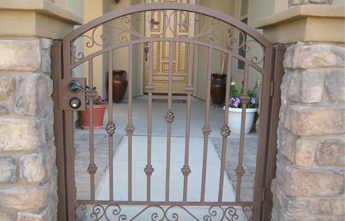 Arched Walk Gate