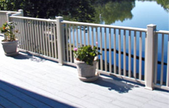 Custom PVC Vinyl Balcony Rails