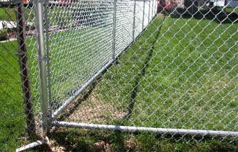 Chain Link Fence Bottom Rail