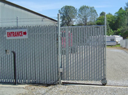 Custom Access Control Commercial Entrances