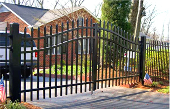 Double Swing Estate Gate