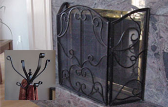 Custom Wrought Iron Home Decor Accessories