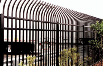 Iron Security Fence Modern Fence Company Fort Smith Fence Eastern Oklahoma Fencing