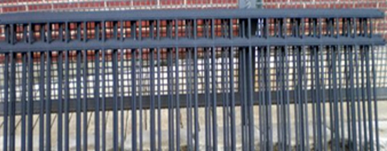 Pre-Fabricated Iron Fence Kit Long Modern Fence Company Fort Smith Fence Eastern Oklahoma Fencing